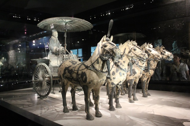 Wooden Chariots and Bronze Horses
