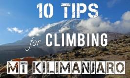Tips for Climbing Kilimanjaro