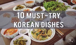 Korean Food Dishes