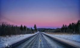 Ontario-Roadway-Sunset