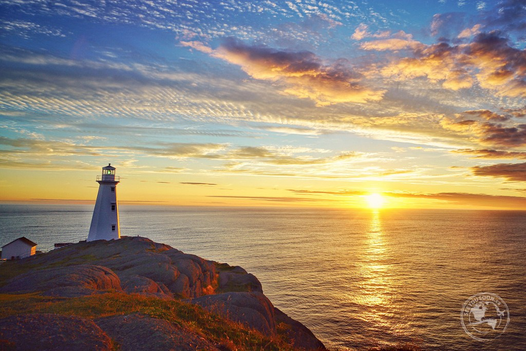 Sunrise at Cape Spear