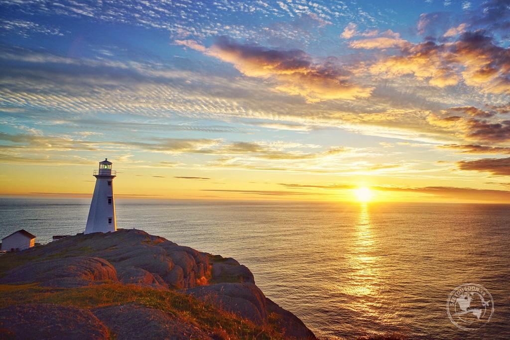 Sunrise at Cape Spear