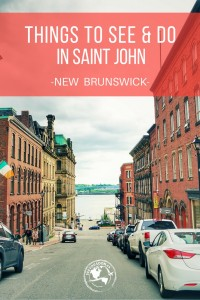 From markets to architecture, food to craft beer. Highlighting some of the things to do in Saint John, New Brunswick - the only city on the Bay of Fundy!