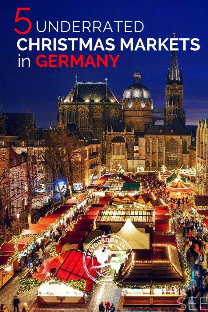 Check out this video about 5 underrated and smaller Christmas markets to visit in Germany!
