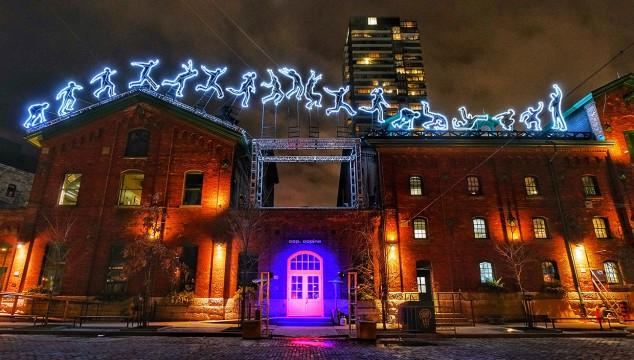 Toronto Light Festival Run Beyond