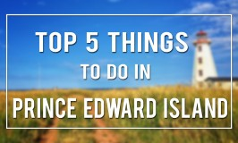 Top Things To Do on PEI