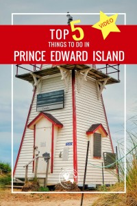 From the red sand beaches to Anne of Green Gables, check out the Top 5 Things To Do in PEI!