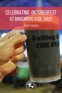 Kitchener-Waterloo, Ontario is home to the largest Oktoberfest outside of Germany. Check out the celebrations at Bingemans Kool Haus!