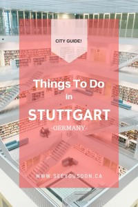 From palaces, to food halls, modern architecture and the Mercedes Benz Museum, get the most of your visit with these things to do in Stuttgart, Germany!