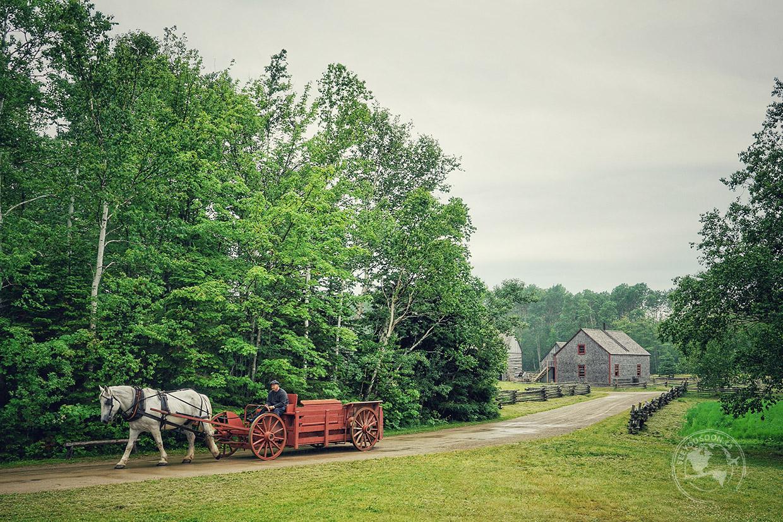 Acadian Historical Village in New Brunswick