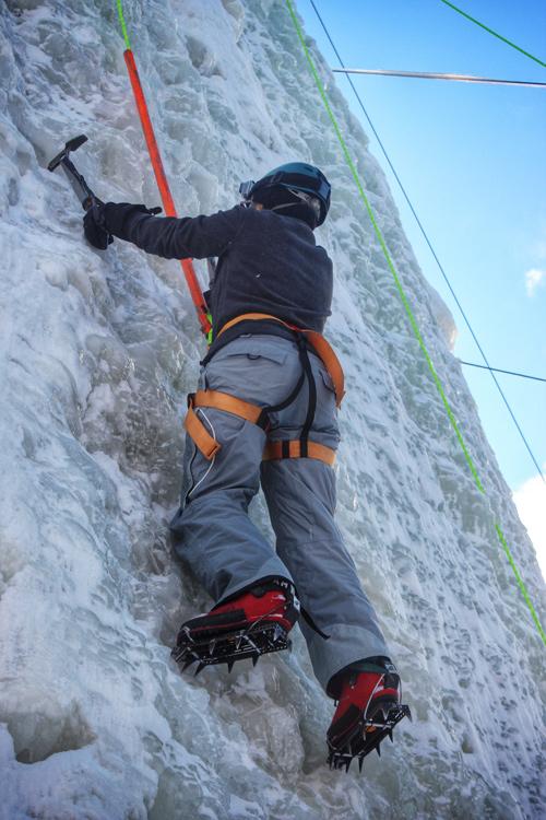 Ice Climbing in Ontario