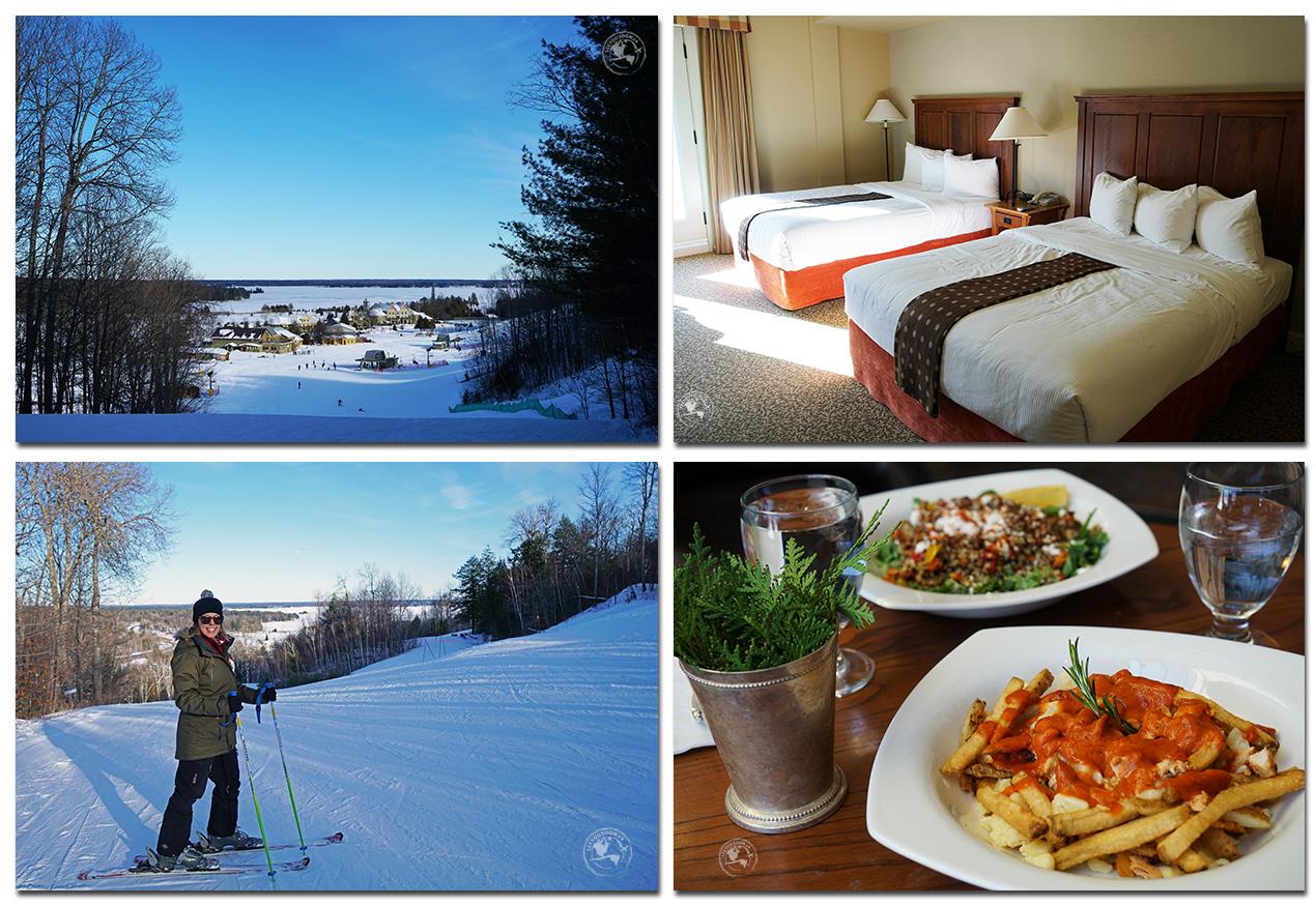 Winter activities in Ontario