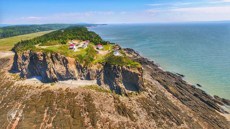 Cape Enrage New Brunswick Low Tide
