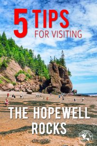5 tips for visiting the Hopewell Rocks in New Brunswick