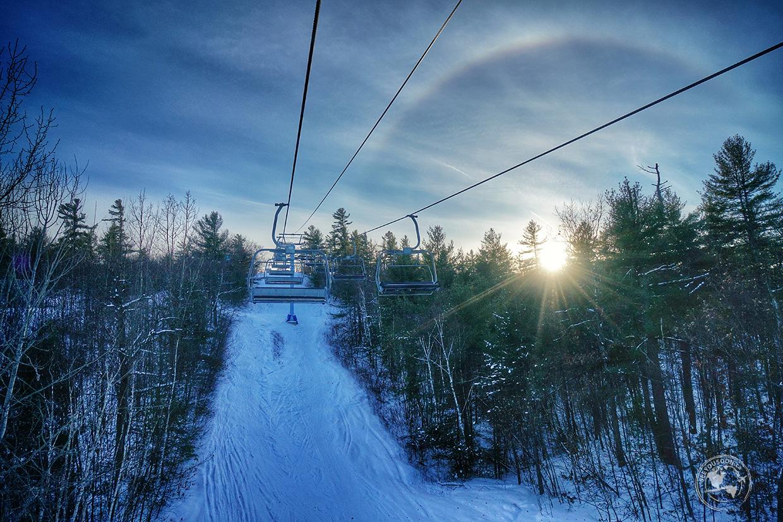 Skiing in Ontario