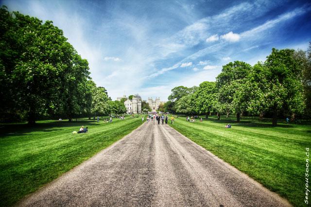 Windsor Castle Pathway