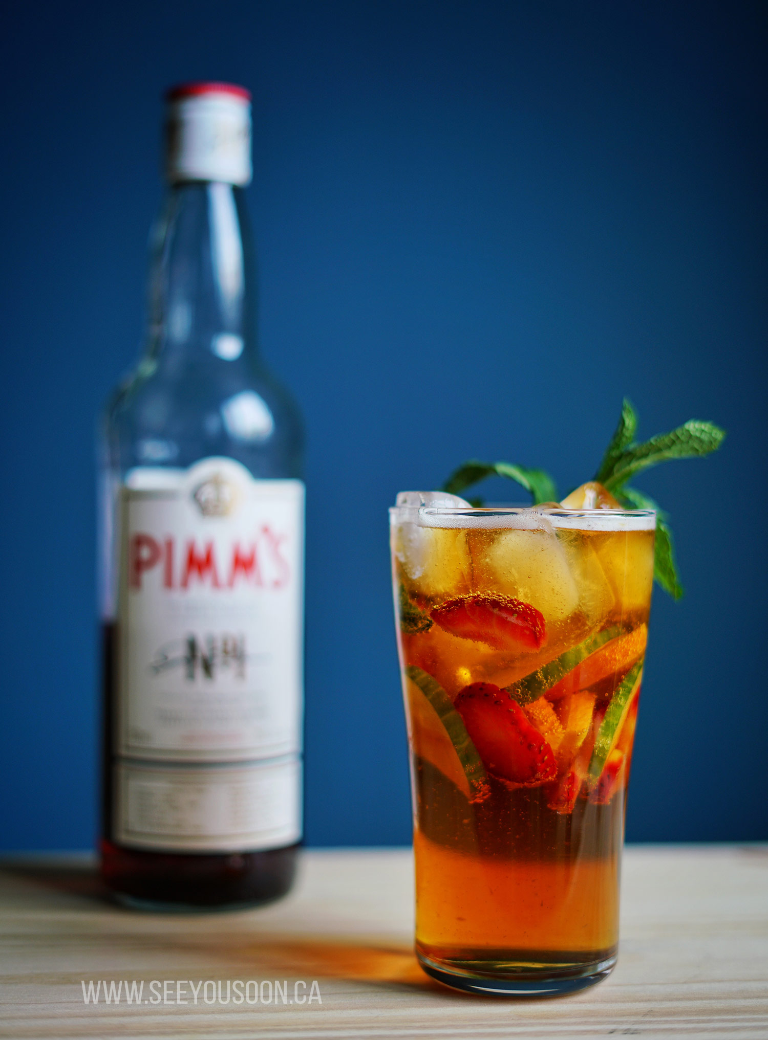 Pimm's No.1 Cup Cocktail